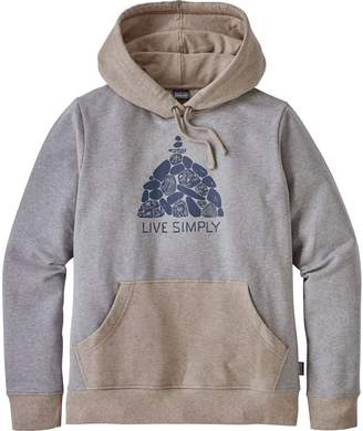 Patagonia Live Simply Summit Stones Midweight Pullover Hoodie - Women's