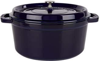 Staub Blue Round Cocotte (28cm)