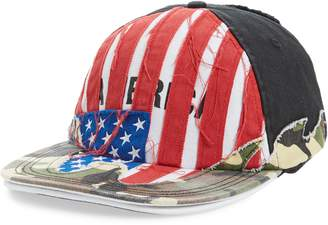 Vetements Cut Up America Baseball Cap