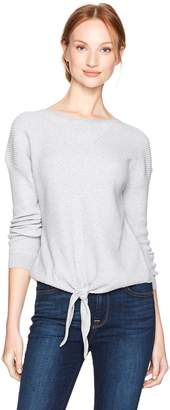 Lucky Brand Women's Tie Front Sweater