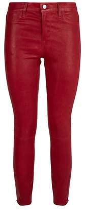 J Brand Skinny Leather Trousers