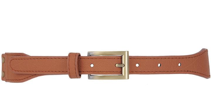 Elastic Leatherette Belt