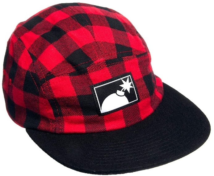 The Hundreds Varied Five Panel Cap