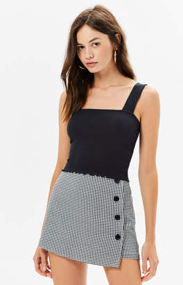 Proenza Schouler Basics By Pacsun Effie Lettuce Edge Tank Top