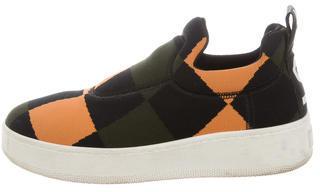 CelineCéline Woven Platform Sneakers