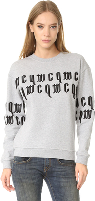 McQ - Alexander McQueen Classic McQ Sweatshirt $345 thestylecure.com