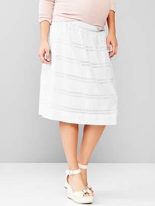 Gap Maternity eyelet full skirt