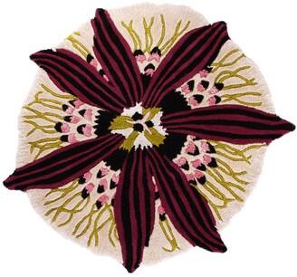 Missoni Home Botanica Round Rug T04 Prugna 110cm Dia