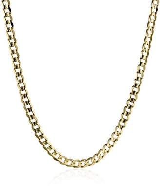 3.1 Phillip Lim 18k mm Italian Flat Curb Chain Necklace