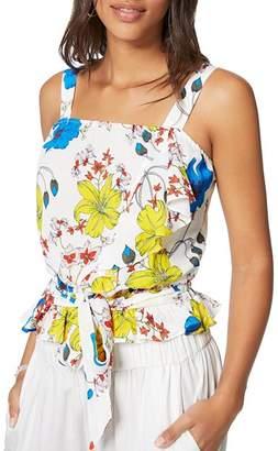 Ramy Brook Harlow Sleeveless Floral Silk Blend Top