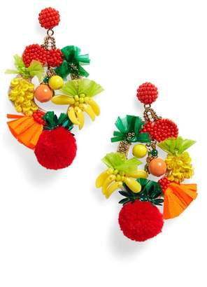 J.Crew Fruit Bowl Earrings