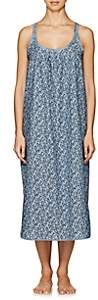 Castle & Hammock Women's Mixed-Print Cotton Sleeveless Dress-Blue