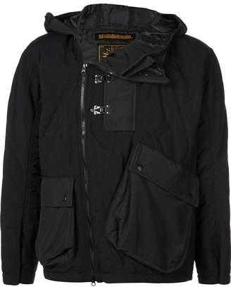 Neighborhood off-centre zipped jacket