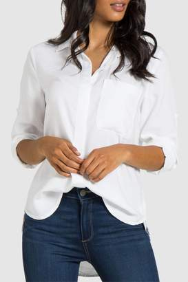 Bella Dahl Ribbon Shirt