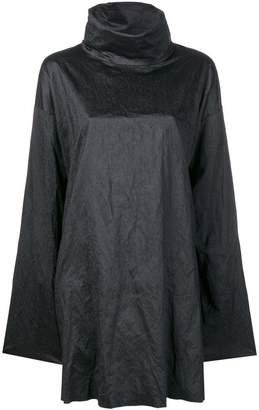 MM6 MAISON MARGIELA high neck cape-top