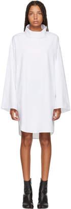 MM6 MAISON MARGIELA White Turtleneck Dress