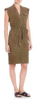 SET Suede Dress
