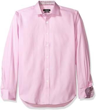 Bugatchi Men's Darcy Long Sleeve Tonal Button Down Shirt