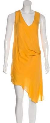 Haute Hippie HHH by Silk Knee-Length Dress