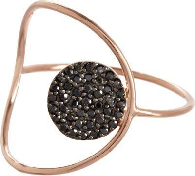 Black Diamond Alexandra Moosally Circle Ring