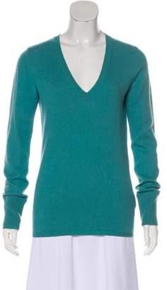Burberry Lightweight Cashmere Sweater Blue Lightweight Cashmere Sweater