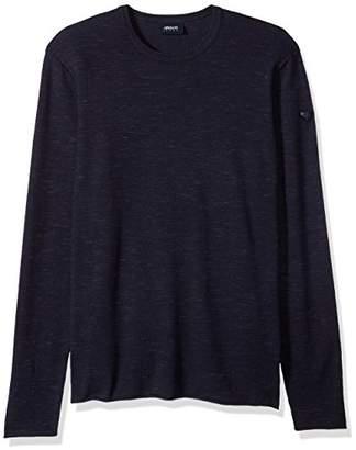 Armani Jeans Men's Slub Effect Knit Pullover