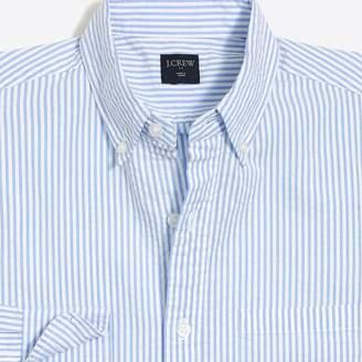 J.Crew Factory Slim-fit seersucker shirt