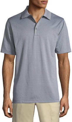 Bobby Jones XH2O Staten Micro-Grid Jacquard Polo Shirt