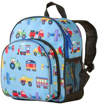 Olive Kids Wildkin Trains, Planes & Trucks Pack 'n Snack Backpack - Kids