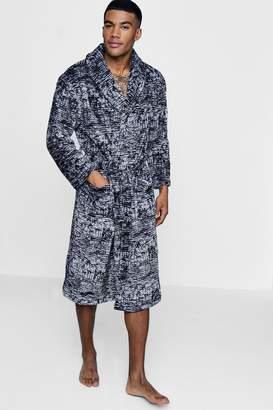 boohoo Printed Robe