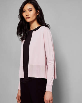 Ted Baker JACSUM Pleated back cardigan