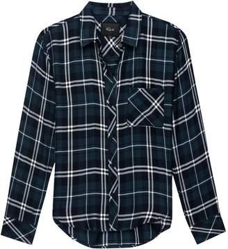Rails Hunter Spruce/White Long-Sleeve Button Up - Women's