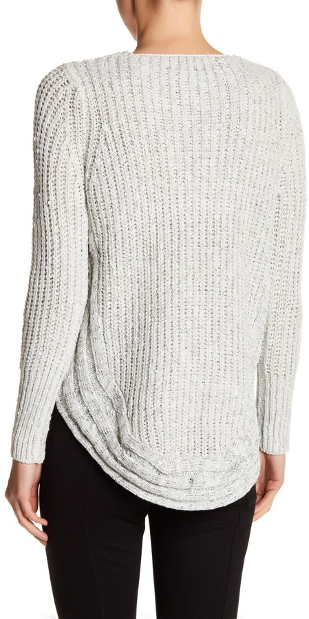 Papillon Scoop Knit Sweater 2