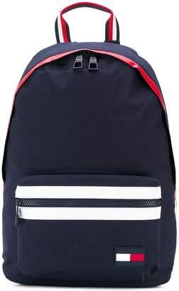 86f6e68bca47 Tommy Hilfiger striped detail backpack