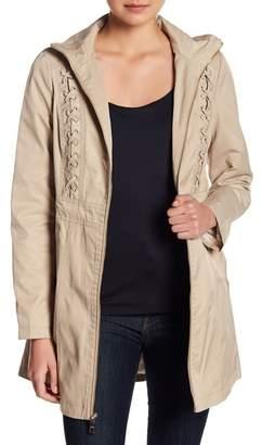 GUESS Lace-Up Coat