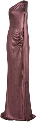 Katie May Attention Seeker One-Shoulder Gown
