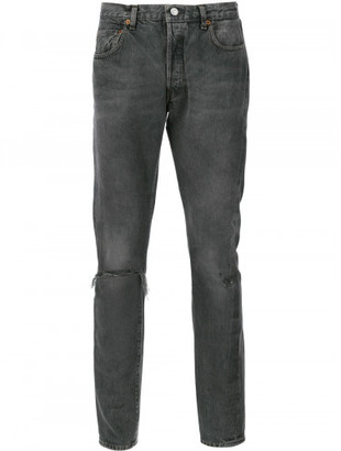 Levi distressed low rise jeans $278 thestylecure.com