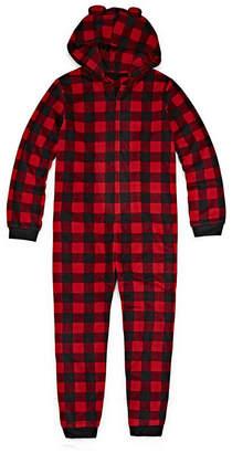 Co North Pole Trading Company Plaid Bear 1 Piece Pajama - Unisex Kid's
