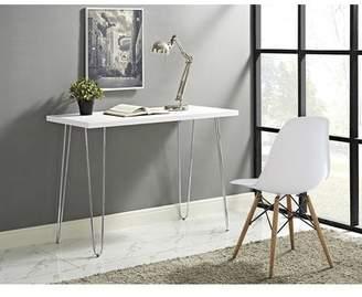 Wrought Studio Hentges Hairpin Leg Wood Writing Desk