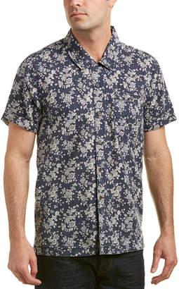 Blank NYC Linen-Blend Woven Shirt