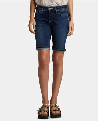 Silver Jeans Co. Suki Denim Bermuda Shorts