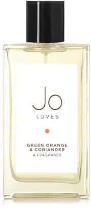 Jo Loves - Green Orange & Coriander - Bitter Green Orange & Black Pepper, 100ml