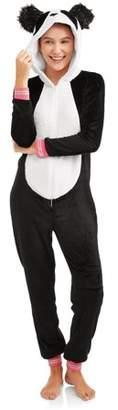 Secret Treasures Jammers Women's and Women's Plus Panda Union Suit