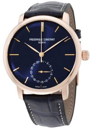 Frederique Constant Manufacture Automatic Movement Navy Dial Ladies Watch FC-710N4S4