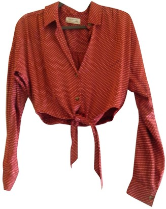 Urban Outfitters Red Top for Women