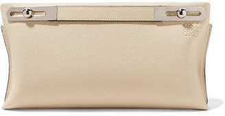 Loewe Missy Small Textured-leather Shoulder Bag - Ivory