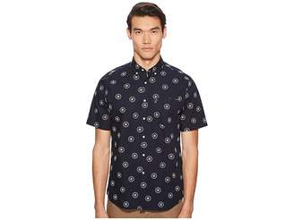 Vilebrequin Cash Short Sleeve Embroidered Poplin Shirt