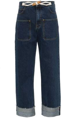 J.W.Anderson high-waisted wide-leg jeans