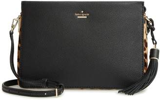 Kate Spade Kingston Drive - Naomi Leather & Genuine Calf Hair Crossbody Bag