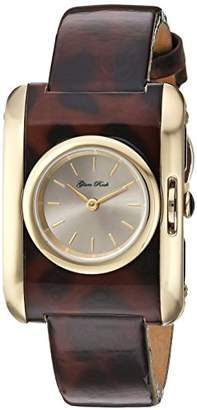 Glam Rock Women's 'Icon' Swiss Quartz Stainless Steel and Leather Casual watchMulti Color (Model: GR80005)